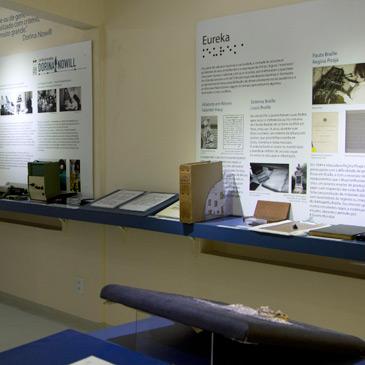 Foto do centro de Memória localizado da Fundação Dorina.
