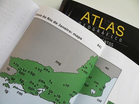 Atlas em braille