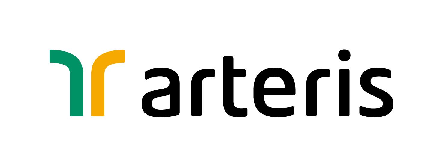 descrição da imagem: logotipo da Arteris