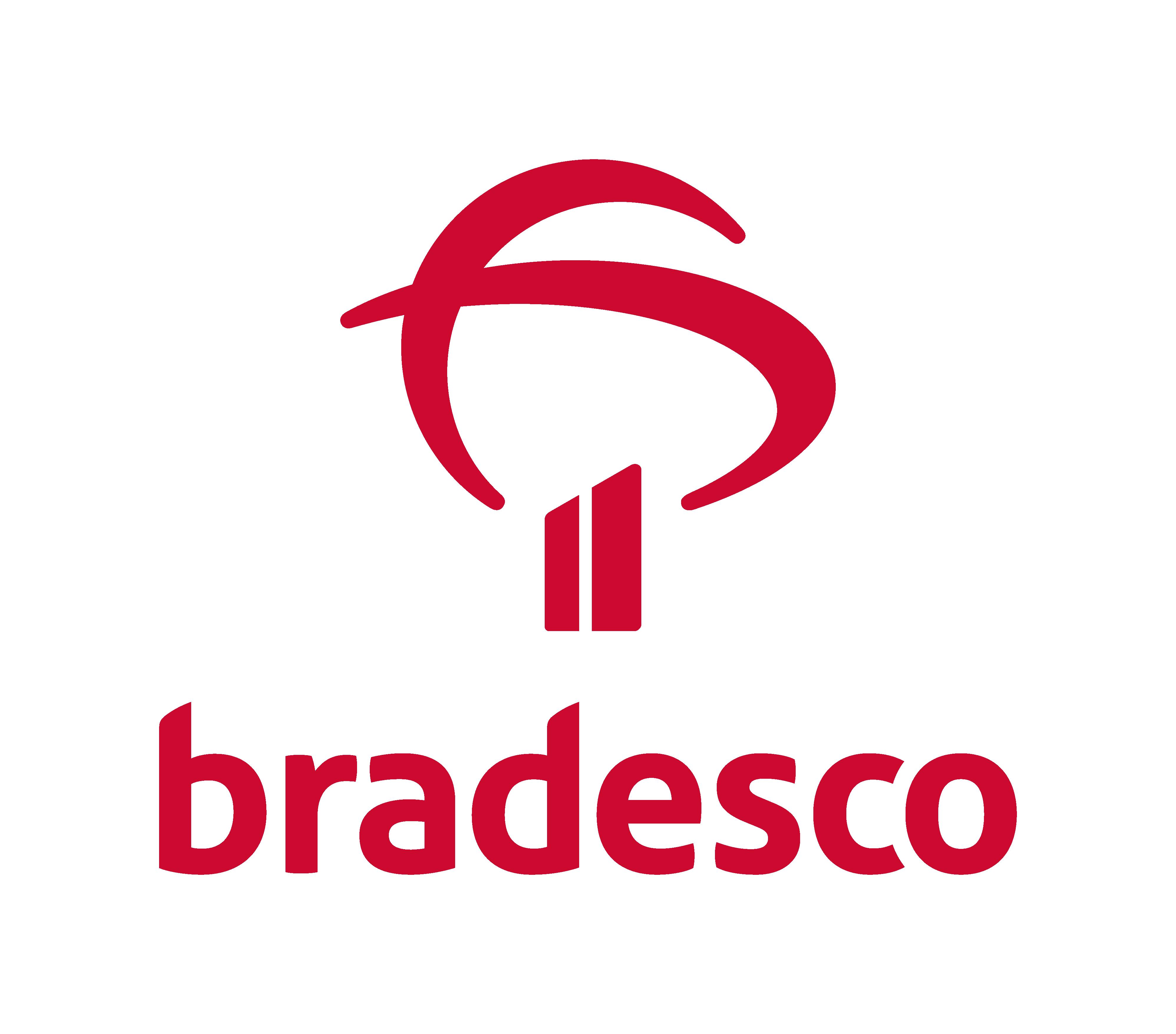 Descrição da imagem: logotipo do Bradesco