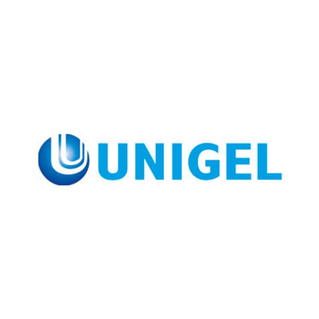 Descrição da imagem: logotipo da Unigel