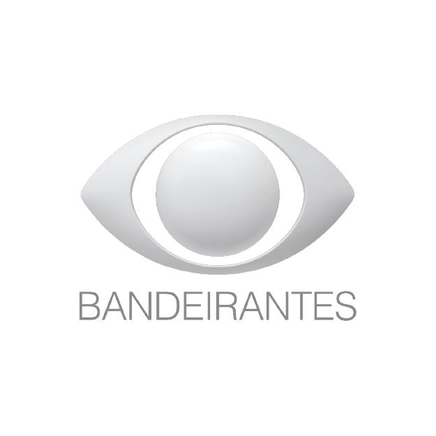 Descrição da imagem: logotipo do grupo Bandeirantes