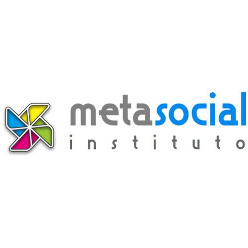 Descrição de imagem: logotipo metasocial instituto