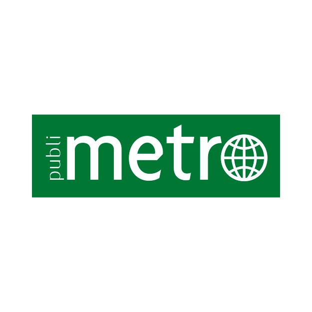 Descrição da imagem: logo Jornal Metro