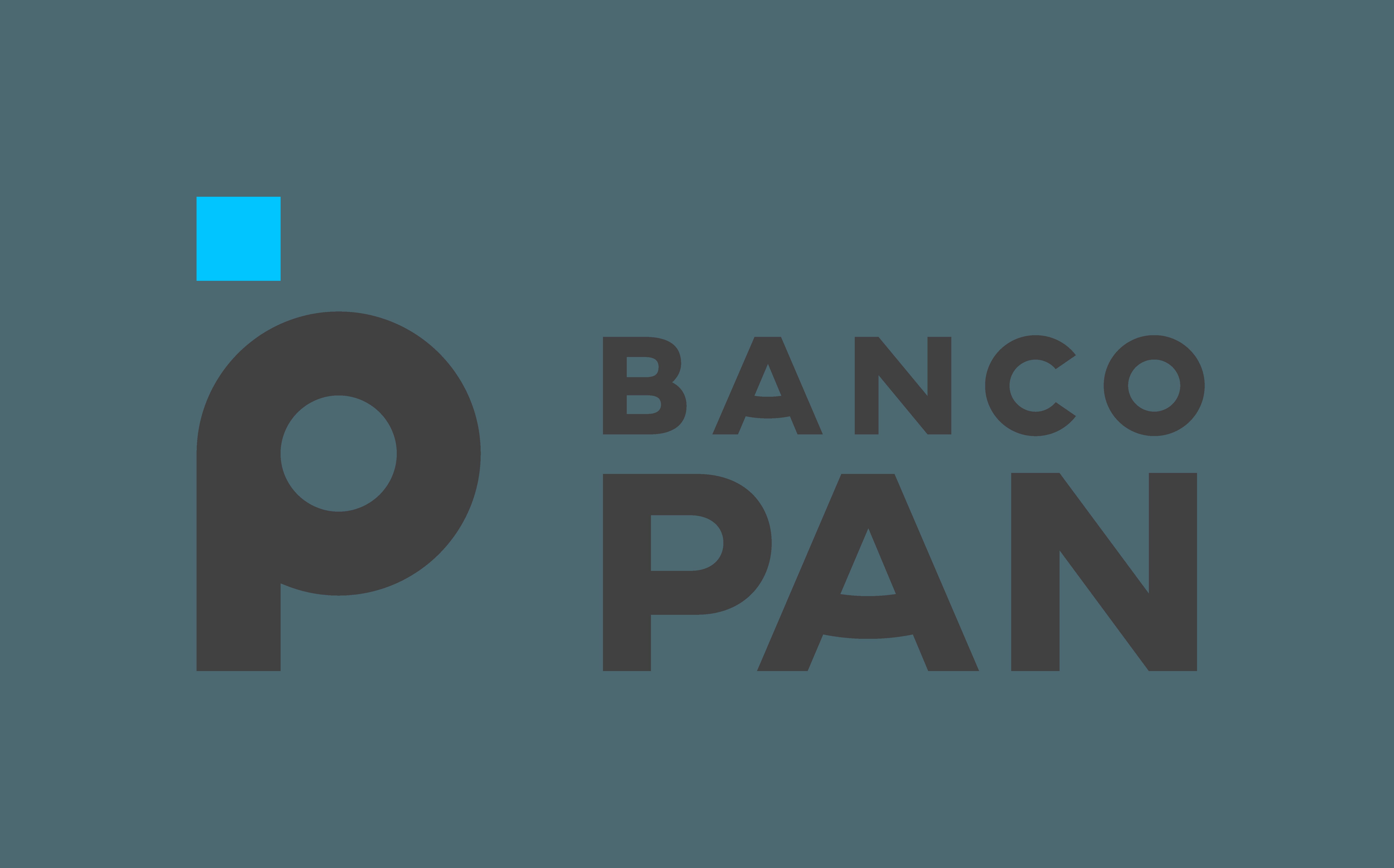 Descrição da imagem: logotipo do Banco Pan