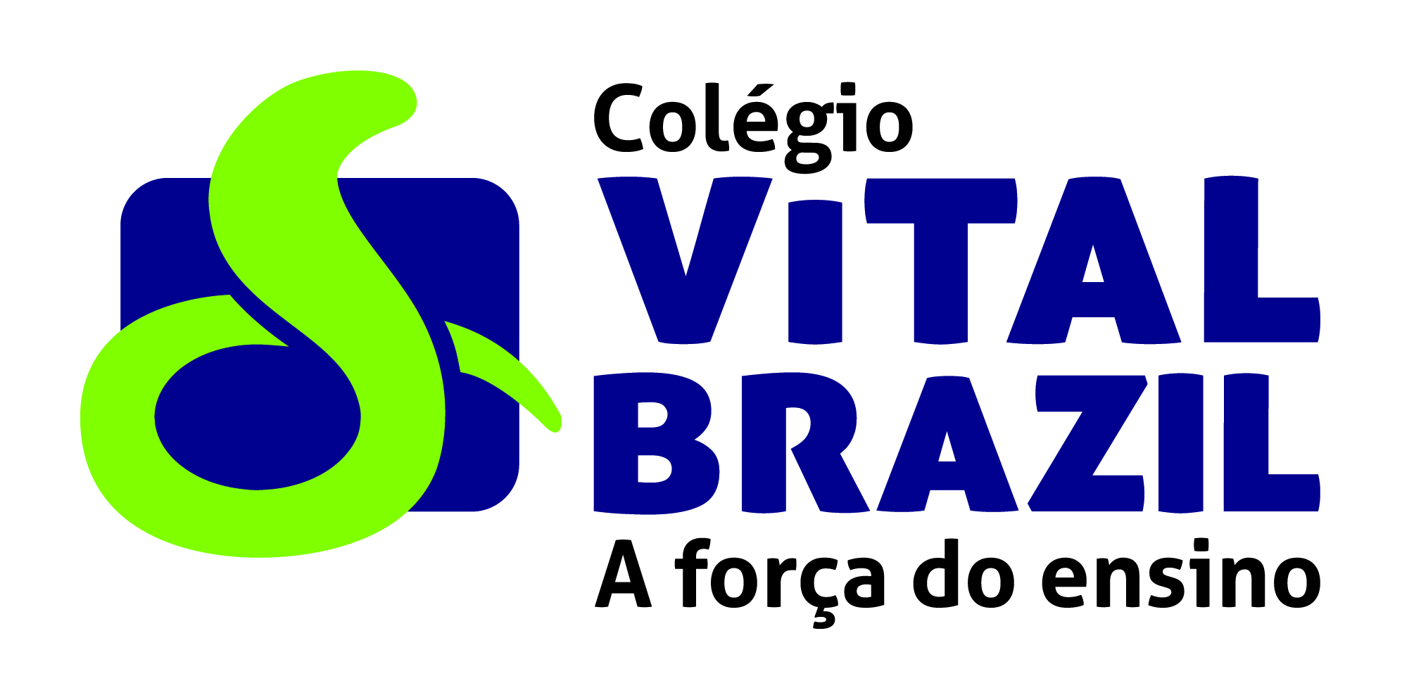 Descrição da imagem: logotipo do Colégio Vital Brazil