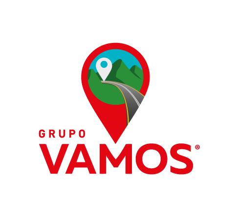 Descrição da imagem: logotipo do Grupo Vamos.