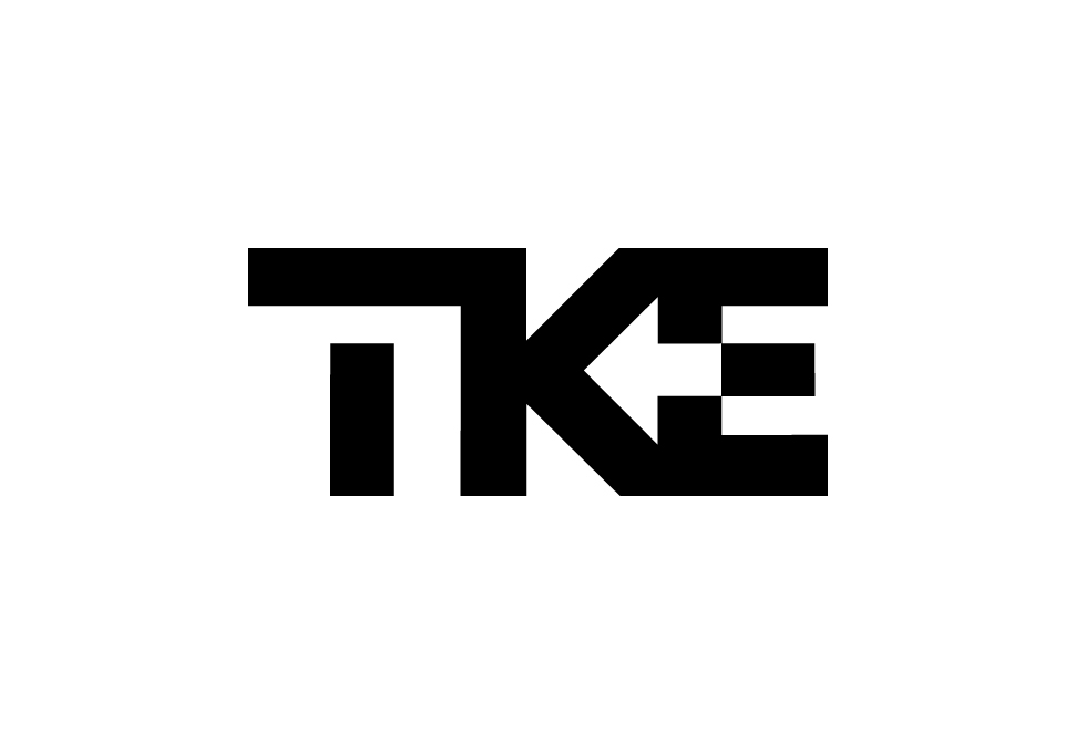 Descrição da imagem: logotipo da TKE