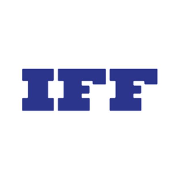 Descrição da imagem: logo da empresa IFF.