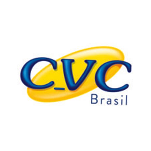 Descrição da imagem: logotipo da CVC