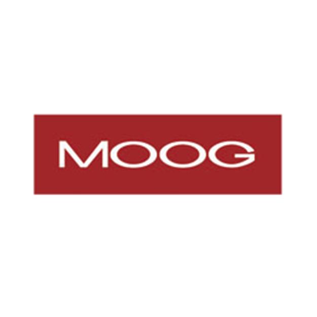 Descrição da imagem: logotipo da Moog