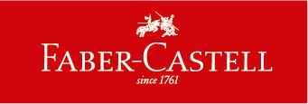 descrição da imagem: logotipo da Faber-Castell