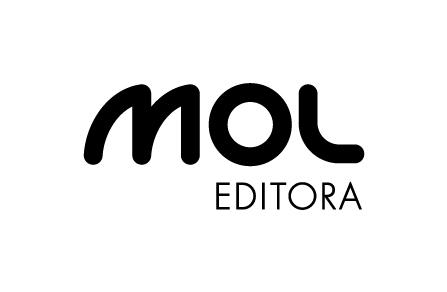 Descrição da imagem: logotipo da Editora Mol.