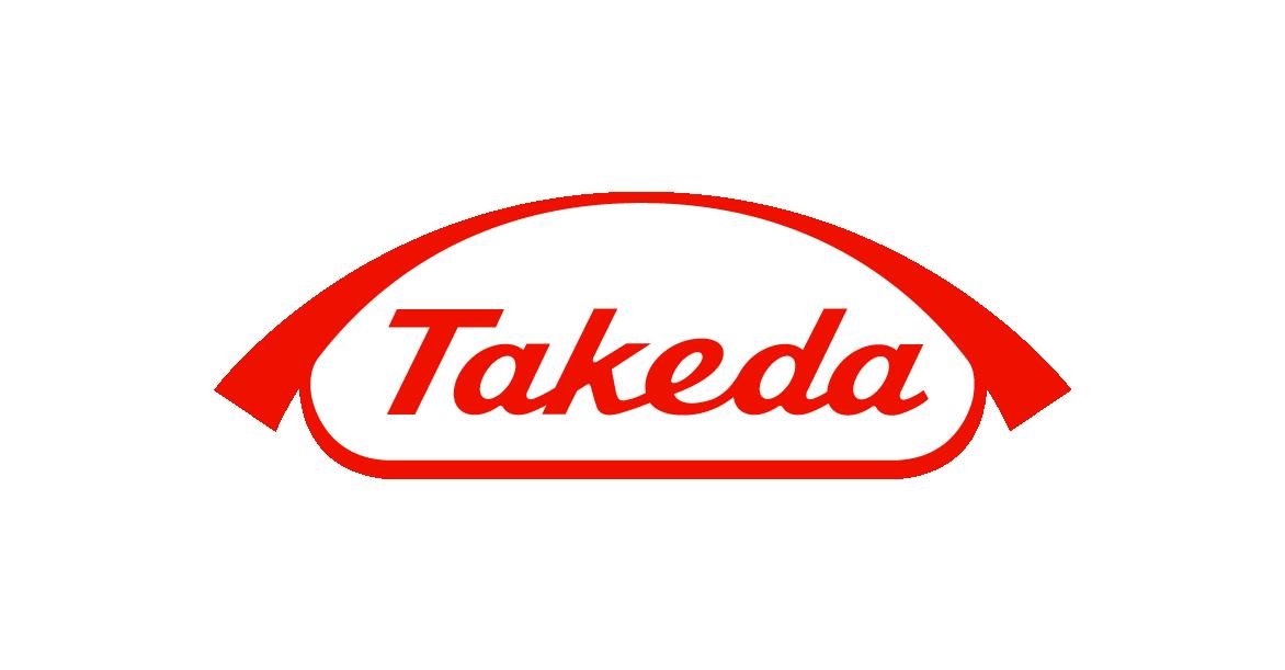 Descrição da imagem: logotipo da Takeda