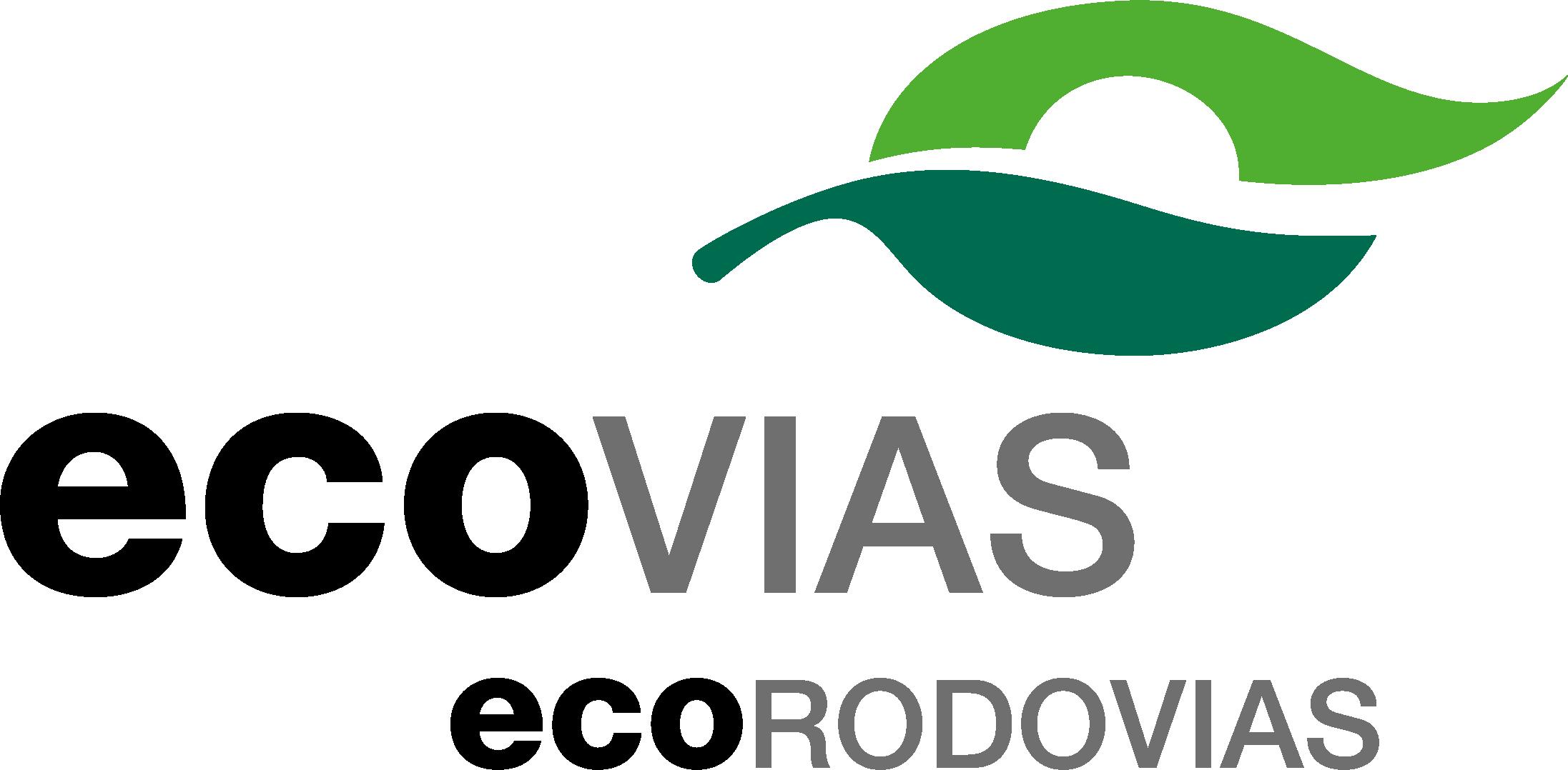 Descrição da imagem: logotipo da Ecovias