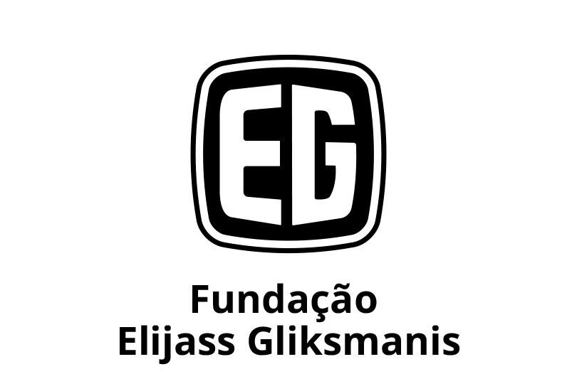 Descrição da imagem: logotipo da • Fundação Elijass Gliksmanis