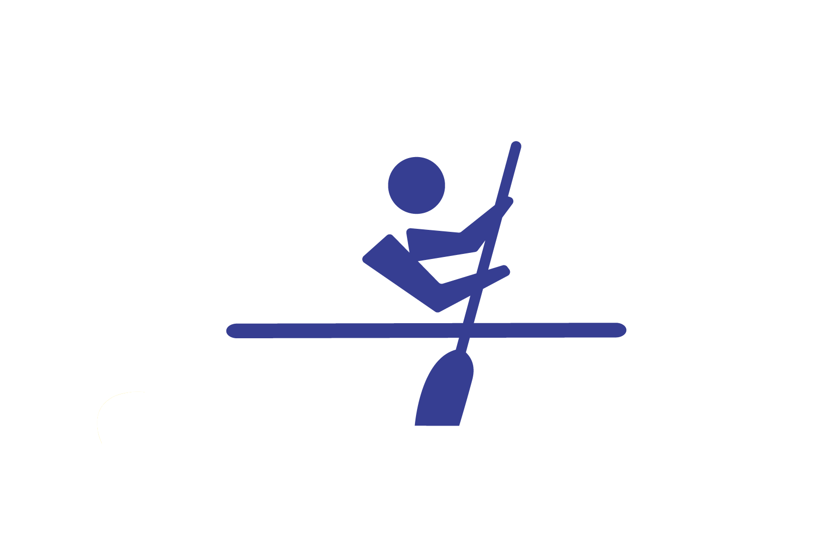 A imagem mostra o pictograma da modalidade